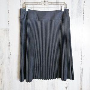 Calvin Klein A-Line Skirt Size 8 Accordion Pleat